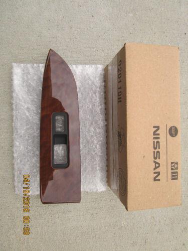 09-12 NISSAN MURANO PASSENGER RIGHT SIDE WINDOW SWITCH BEZEL TRIM WOODGRAIN NEW