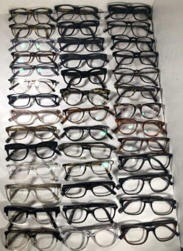 Lot Of 40 Warby Parker Eyeglasses/ Sunglasses EB