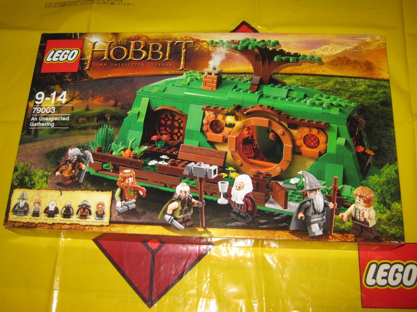 LEGO 79003 Hobbit An Unexpected Gathering RARE RETIrot SET from 2012 NEW SEALED