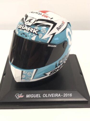 Casco Motogp Miguel Oliveira 2016 1//5 Colección Altaya Nuevo Caja Plexi Fascul
