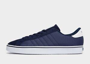 Adidas-Originals-Rod-Laver-Men-039-s-Trainers-UK-7-EUR-40-5-US-7-5-Navy-Brand-New