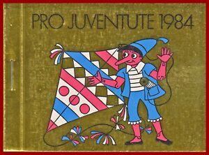 Schweiz-1984-Pro-Juventute-postfrisches-Markenheft-MNH-Mi-0-79-SBK-33