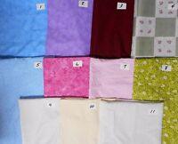 Bulk 100% Cotton Fabric White/natural On White Solid Tiny Prints 20 Yd Free Ship