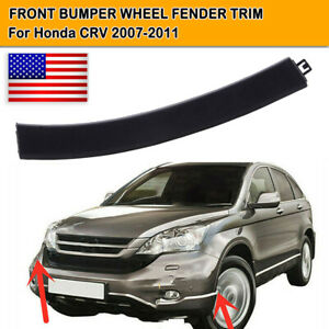 FOR CRV 07-11 FRONT BUMPER WHEEL FENDER MOLDING TRIM 71108-SWA 71103-SWA