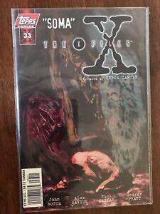 X-Files-Soma-33B-September-1997-Topps-Comics-FREE-Bag-Board-Chris-Carter