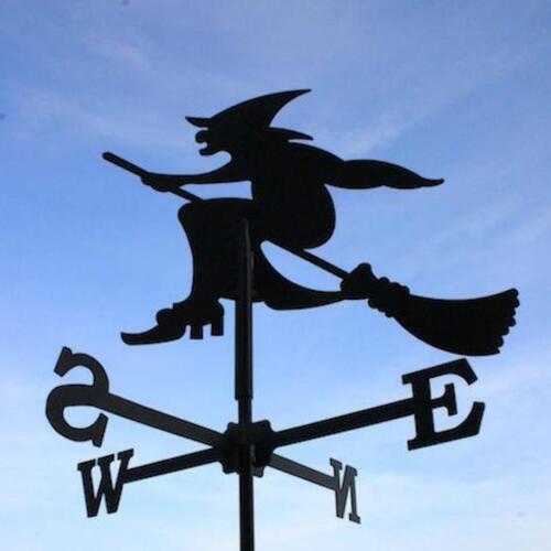 Post Fixing Bracket Standard Witch Metal Weathervane