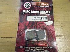 FIBRAX CANNONDALE (CODA) CALIPER DISC BRAKE PADS (RRP £13.99)