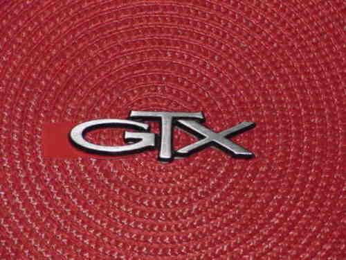 1967 67 1971 71 1972 72 1973 73 1974 74 Plymouth GTX NAMEPLATE EMBLEM NOS MoPar