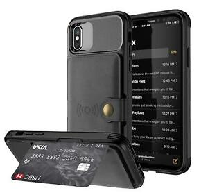 iphone xs case card holder