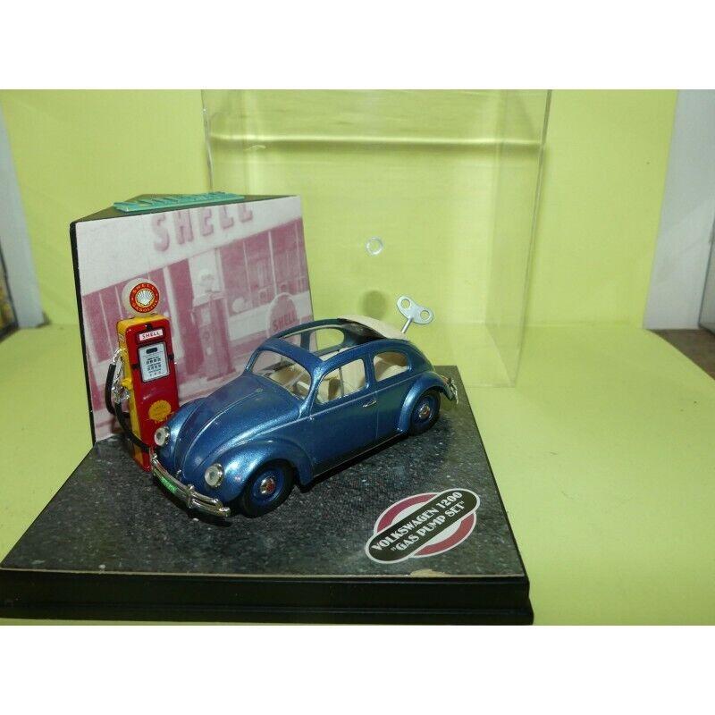VW COCCINELLE GAZ PUMP SET 1955   VITESSE L199 1 43