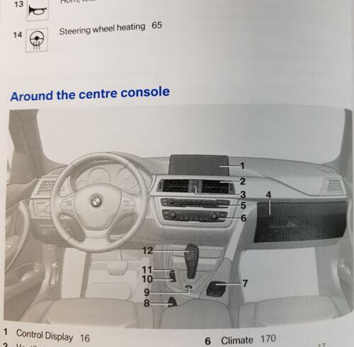 GENUINE BMW 3 SERIES PLUG-IN HYBRID F30 2016-2019 HANDBOOK OWNERS MANUAL # H-431