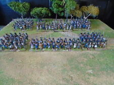 PERRY MINIATURES FRENCH NAPOLEONIC BRIGADE PAINTED TO ORDER FOR BLACK POWDER