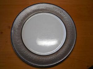 Image is loading Nate-Berkus-INDOCHINE-Set-of-3-Dinner-Plates- & Nate Berkus INDOCHINE Set of 3 Dinner Plates 11 1/4