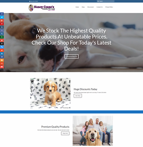 FAMILY PETS Website Earn £42 A SALE|FREE Domain|FREE Hosting|FREE Traffic