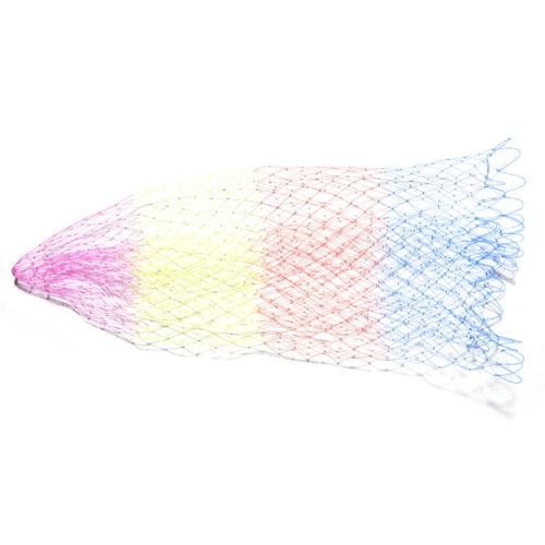 1x Nylon Fischernetz Rhombus Mesh Loch Net Faltbare Angeln Tools 3 Größe H-E
