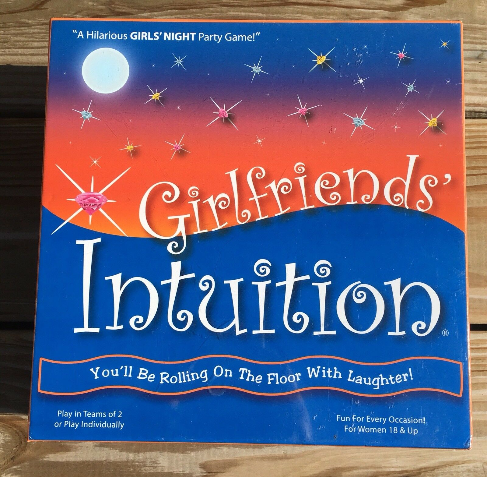Girlfriends Intuition Game Game Game Girls Night Party Game New In Box f925de