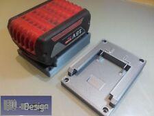 Adapter für Bosch Akku GBA 18V / 14,4V Ladeschale Akkuhalter Grau