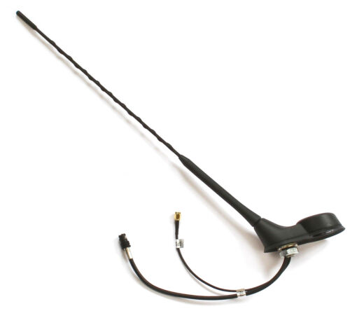 Antena de coche techo antena GPS para audi a3 a4 a6 avant hasta 2006 FM Roka snap Navi