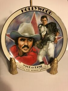Burt Reynolds Hollywood Walk Of Fame Collector Plate