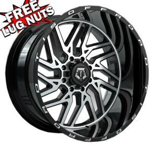 Vision 361 Spyder 22x12 5x5-51mm Black//Milled Wheel Rim 22 Inch