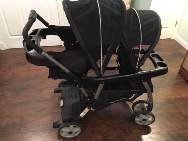 Graco Ready2Grow Click Connect Double Stroller & Bububee ...