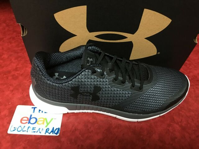 timeless design 4bd85 e31ba Under Armour Men's Charged Lightning Running Shoes UA 1285681-001 Black SZ  9-10