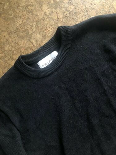 Our Legacy Black Knit