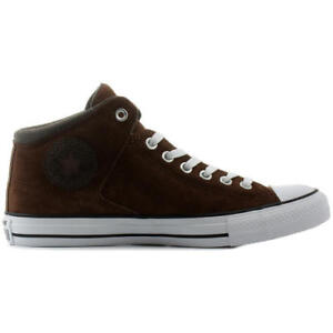 8badb5441696 Converse All Star High Street Mens Mid Top Hi Trainers Shoes Size UK ...