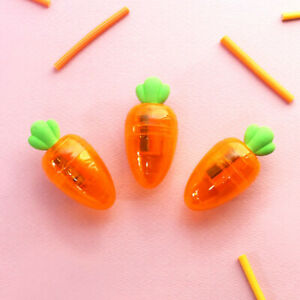 1x-Clear-Carrot-Pencil-Sharpener-Room-Desk-Decoration-School-Office-Supplies