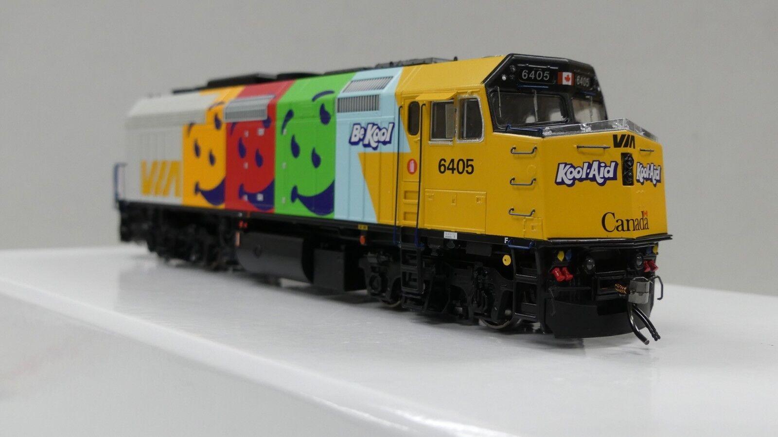 Rapido F40PH2D Via Rail  Koolaid  paint scheme  DCC & Sound (3  's)