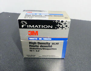 9-3-5-034-Floppy-Disks-Diskettes-High-Density-Imation-opened-but-labels-are-present