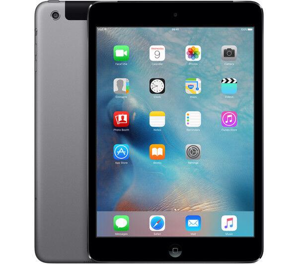 Wi-Fi Space Gray -B 7.9in Apple iPad mini 2 16GB Verizon Cellular