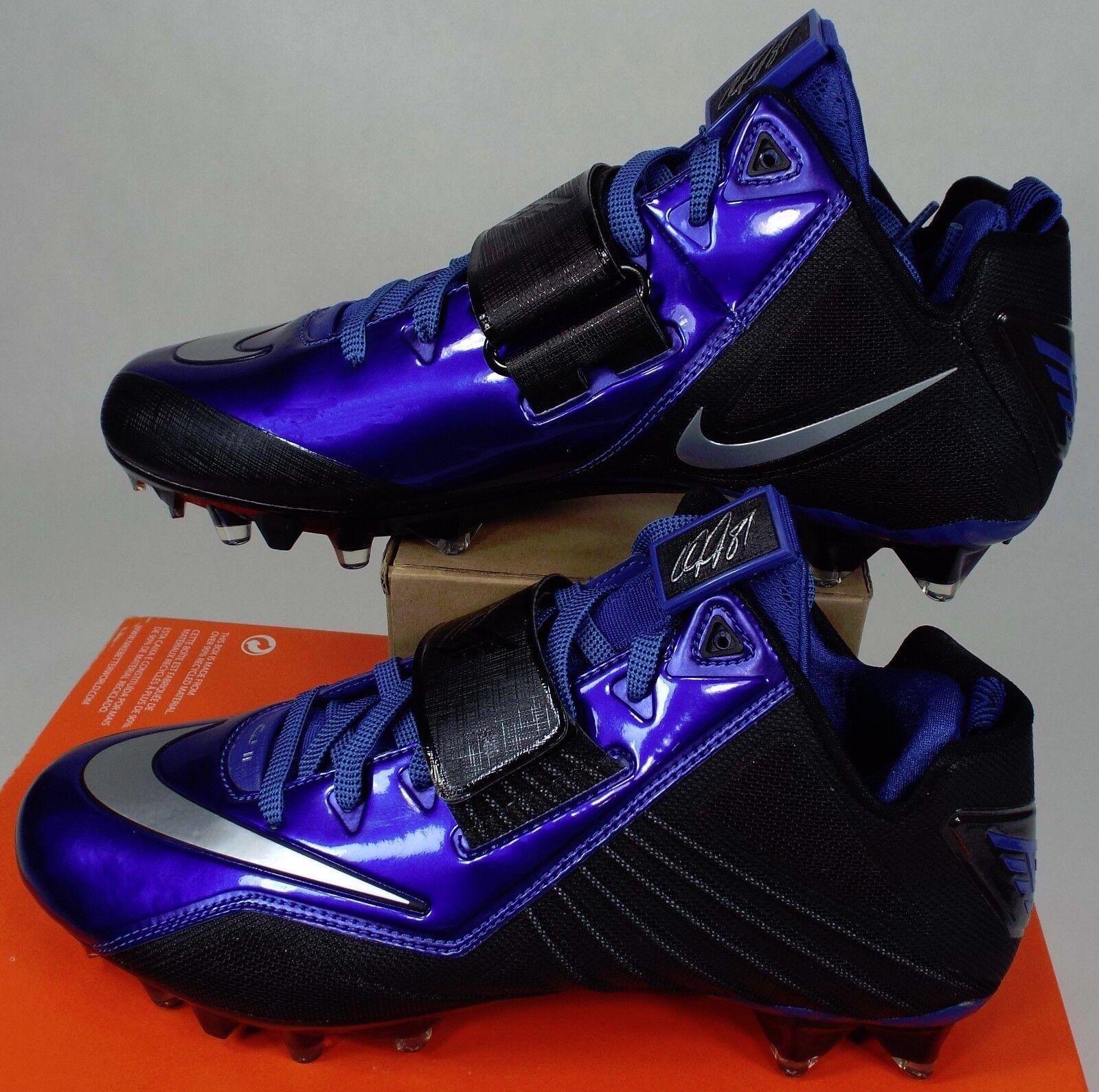 Cheap and beautiful fashion New Mens 13 NIKE CJ Elite 2 TD CJ Calvin Johnson Football Cleats Price reduction