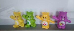 Lot 4 figurines de collection bisounours care bears Hasbro 2012 et 2014