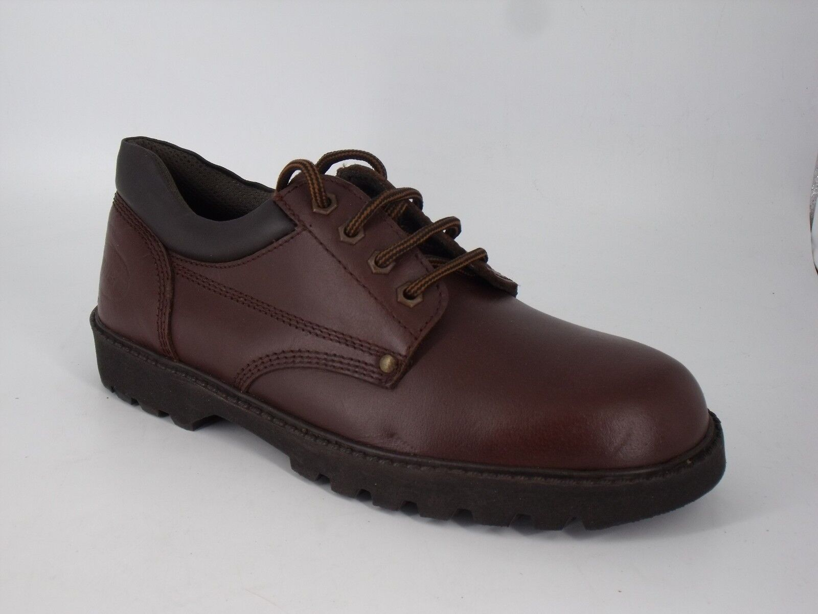 Cliford James Men's Leather Lace Up shoes's Brown Size NH091 AC 06