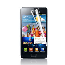 6 x Clear Screen Protectors & cleaning cloths For Samsung i9100 Galaxy S2