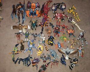 TRANSFORMERS BEAST WARS TRANSMETALS Mega Lot of 37 Megatron, Optimus and more