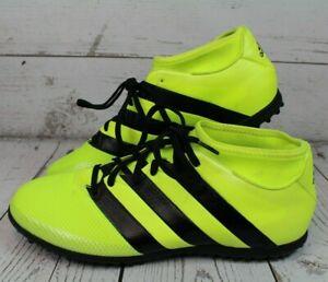 Détails sur ADIDAS ACE 16.3 primemesh TF (AQ3429) Chaussures De Football Chaussures vert jaunâtre UK 10 afficher le titre d'origine