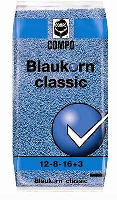 Concime prato tappeti erbosi kg 25 nitrophoska compo blaukorn classic blu piante