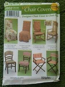 Amazing Details About Simplicity Home Decorating Pattern 5952 Easy Chair Covers Uncut Pdpeps Interior Chair Design Pdpepsorg