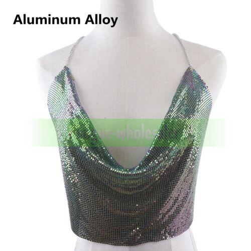Fashion Shiny Crystal Lady Bra Chest Body Chain Harness Necklace Jewelry Diamond