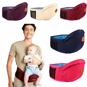 61c2a217eba Hipseat Baby Sit Carrier Waist Chair Belt Holder Infant Toddler ...