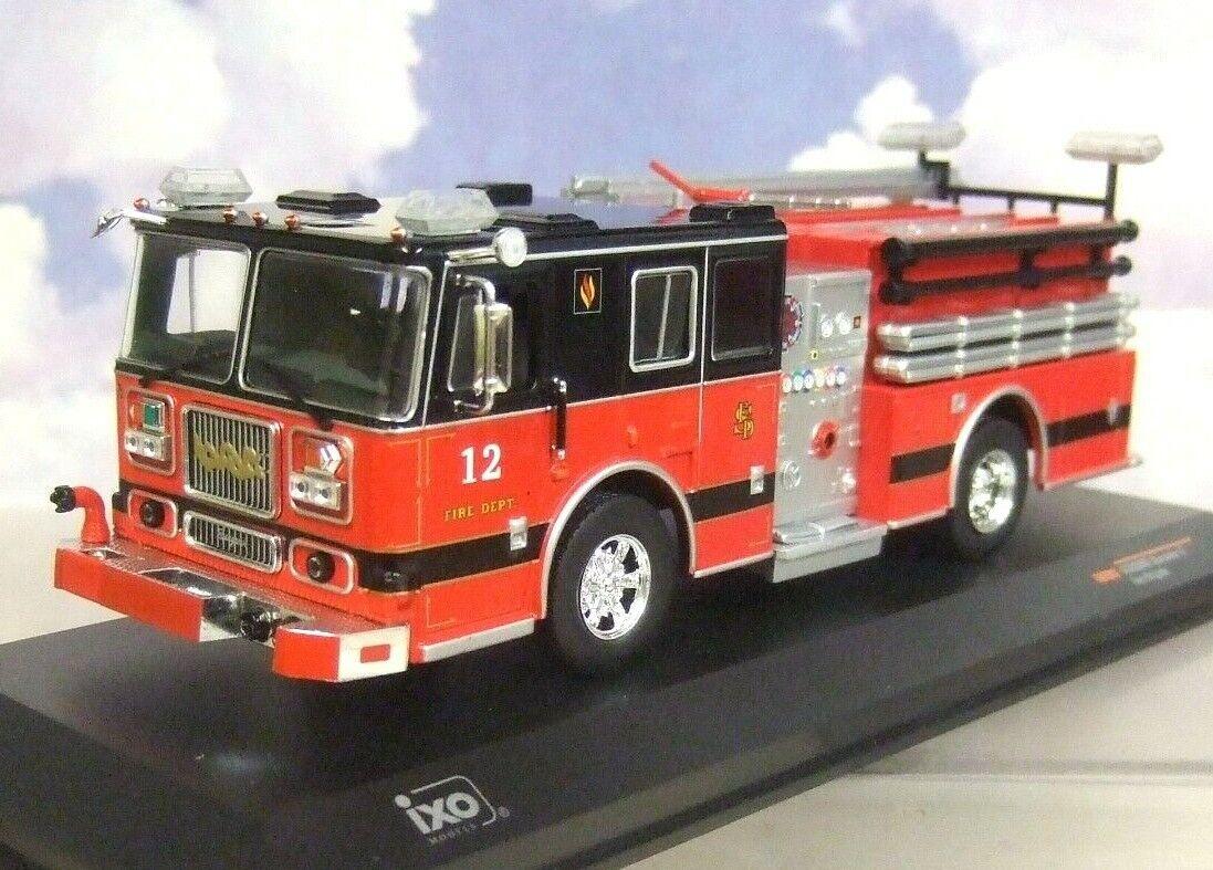 Ixo 1 43 Seagrave Marauder II 2 Americano US Fire Engine Streamwood Illinois Fd