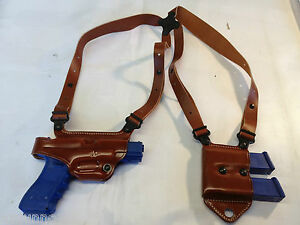 Galco-Miami-Classic-II-Shoulder-Holster-RH-Tan-for-Sig-9-039-s-40-45-MCII248