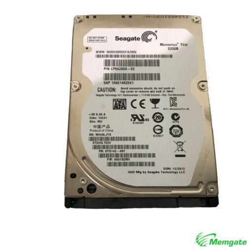 """Seagate Momentus Thin ST320LT020 320GB 7mm SATA 3Gb//s 2.5/"""" Hard Drive"""