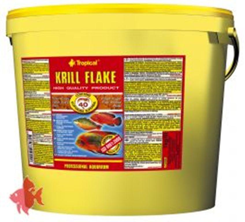 Tropical Krill Flake 5 Liter Mangime in Fioc  per Pesci Colore Rivestimento