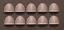 40K Impulsor Squad Space Marine Shoulder Pads x10
