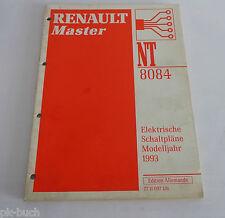 Renault Master Wiring Diagrams Manual 2000 Model Year Genuine Dealer ...