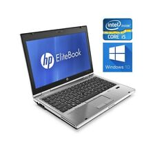 "COMPUTER PORTATILE NOTEBOOK HP 2560P i5 12,5"" WINDOWS 10 4GB 160GB BLUETOOTH-"
