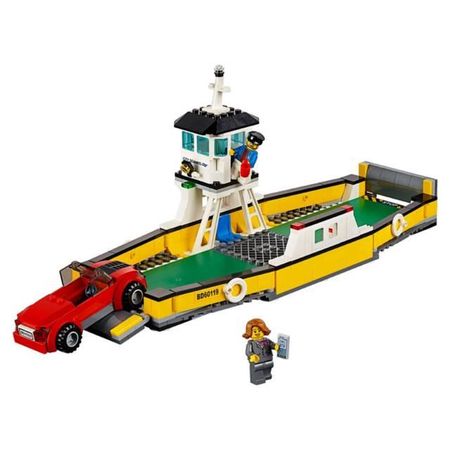 NEW SEALED LEGO 60119 CITY FERRY BOAT SHIP CAR TRANSPORTER